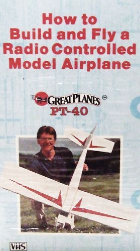 How to Build and Fly A Radio Controlled Model Airplane VHS Flying Hobby Craft | eBay