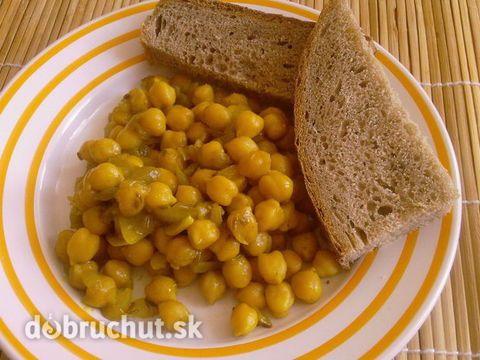 Cizrna (cícer) po indicku - Cizrna chutná po oříšcích..