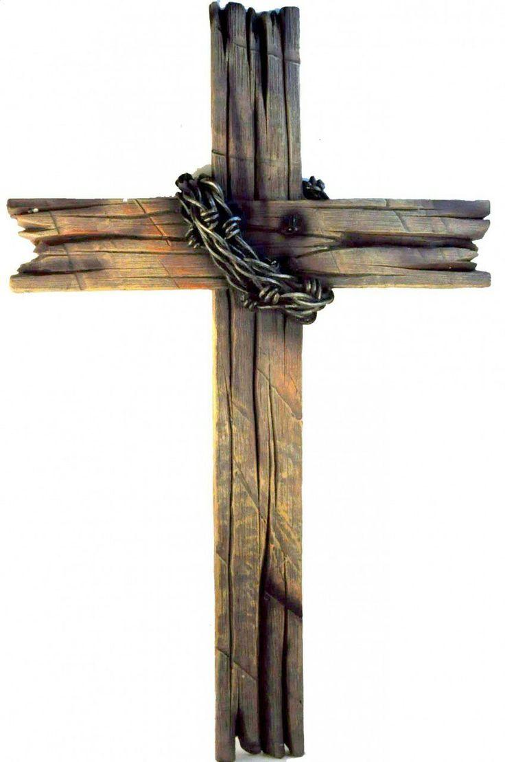 Old Wooden Cross Tattoo