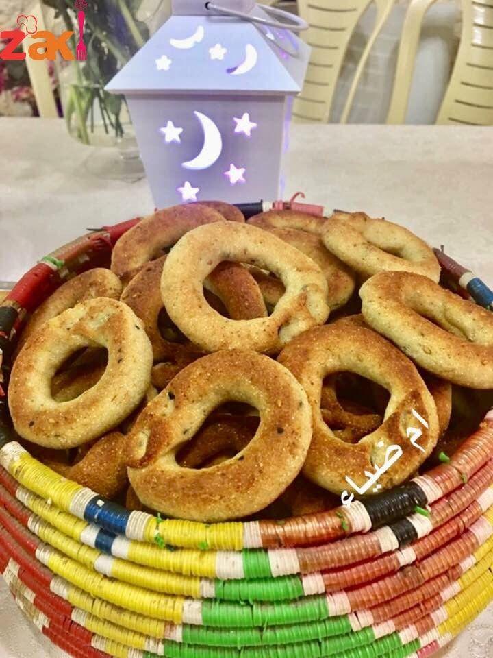 كعك الأساور على طريقة ستي خذي الوصفة وانتي مغمضة وحفظيها على جوالك زاكي Arabic Dessert Arabic Food Palestinian Food