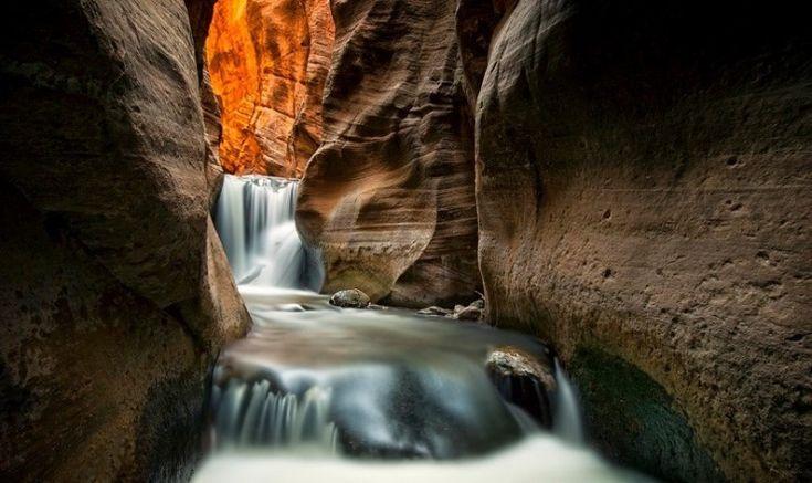 Pesona Kanarra Creek, Taman Nasional Zion, Utah, Amerika Serikat