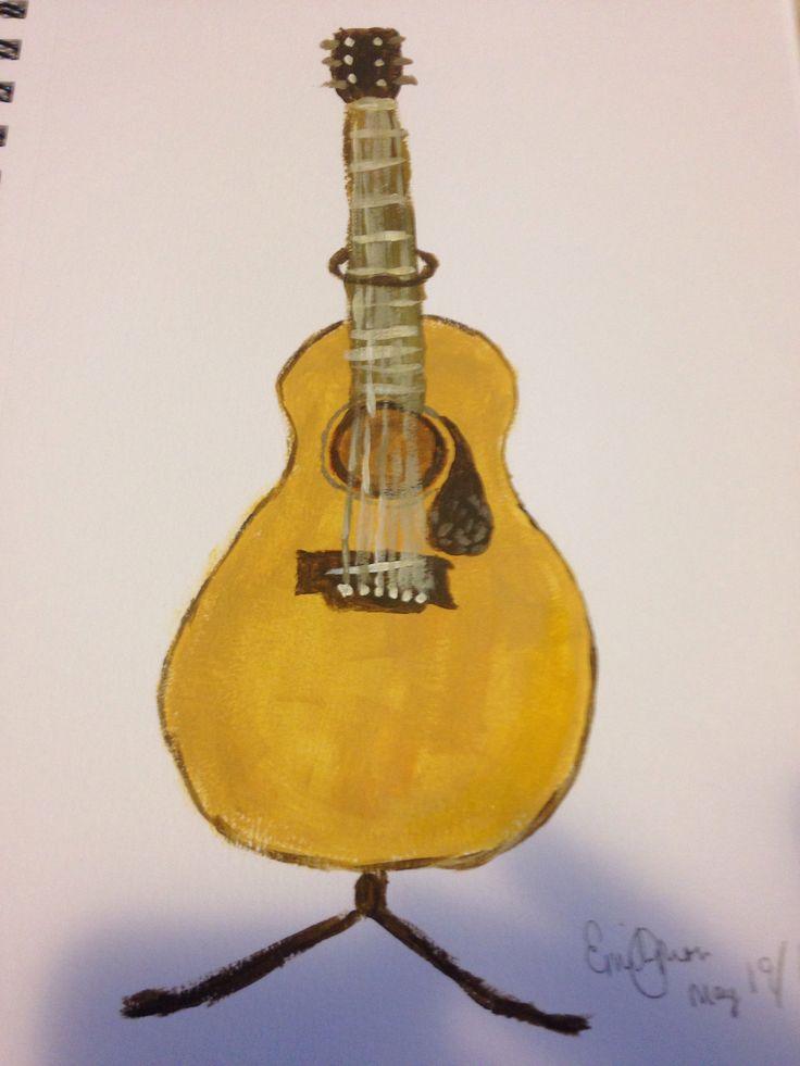 My art #2 #art #creativity #guitar