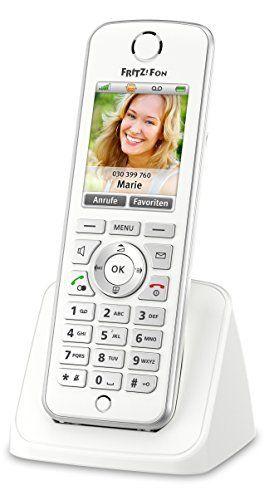 Avm Fritzfon C4 Telefon Farbdisplay Beleuchtete Tastatur Weiß