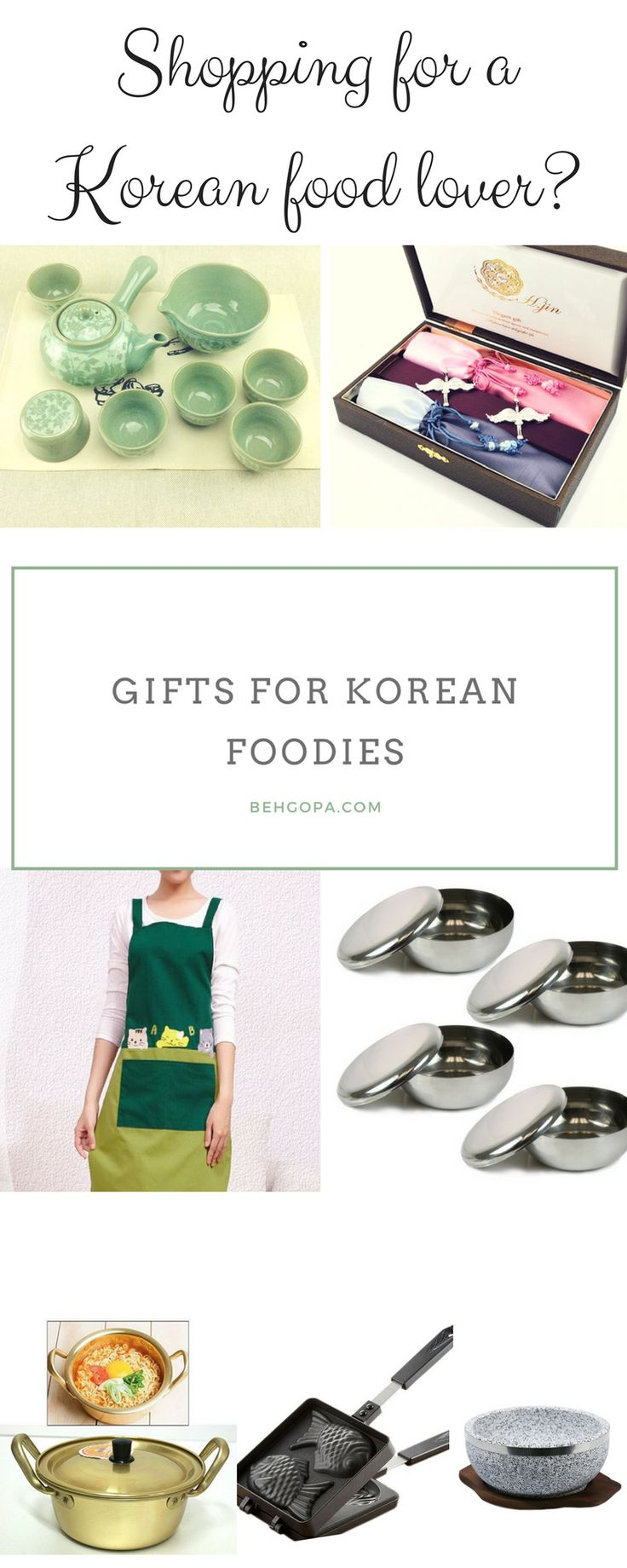 Shopping for a Korean foodie? With my curated list, find gift items for Korean foodies of any level!
