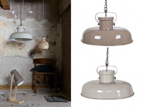 Metalen hanglamp | bijzondere lampen van BePure | ZOOK.nl #lamp #hanglamp #industrielelamp