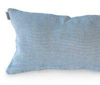 Våga pillowcase blue/white