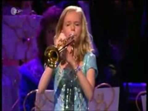 'Il Silenzio' - Melissa Venema (13 yo)  AMAZING  ~!!!!!~