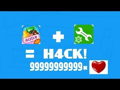 [HACK] Candy crush soda déplacement, vies, score... en illimitee !!!!! - YouTube