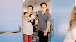 coach dragging Stiles by the ear lololol so funny GIF (4) Tumblr