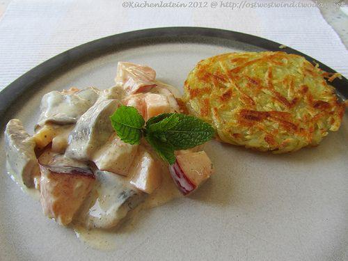 Koch den Vinz: Matjessalat süß-sauer mit Rösti