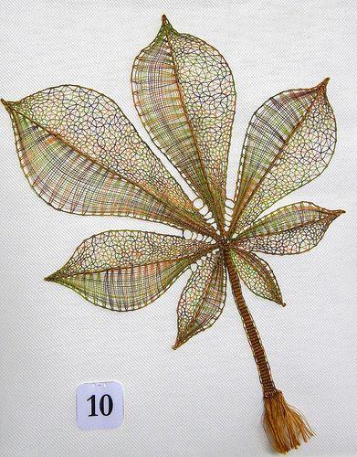 Priit Halberg's Bobbin lace leaf Flickr - Photo Sharing!