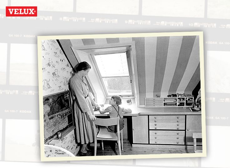 An old VELUX advert