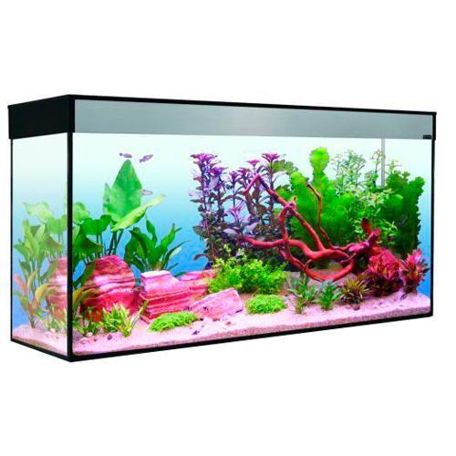 Aquarium moderne Emotion T5 de 120 litres à 253€95 sur www.TiendAnimal.fr