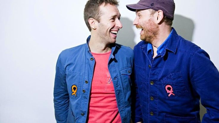 Photo of Jon Buckland  & his friend Chris Martin