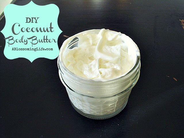 Homemade Whipped Coconut Body Butter