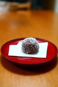 伊勢・赤福の十二月の朔日餅 雪餅