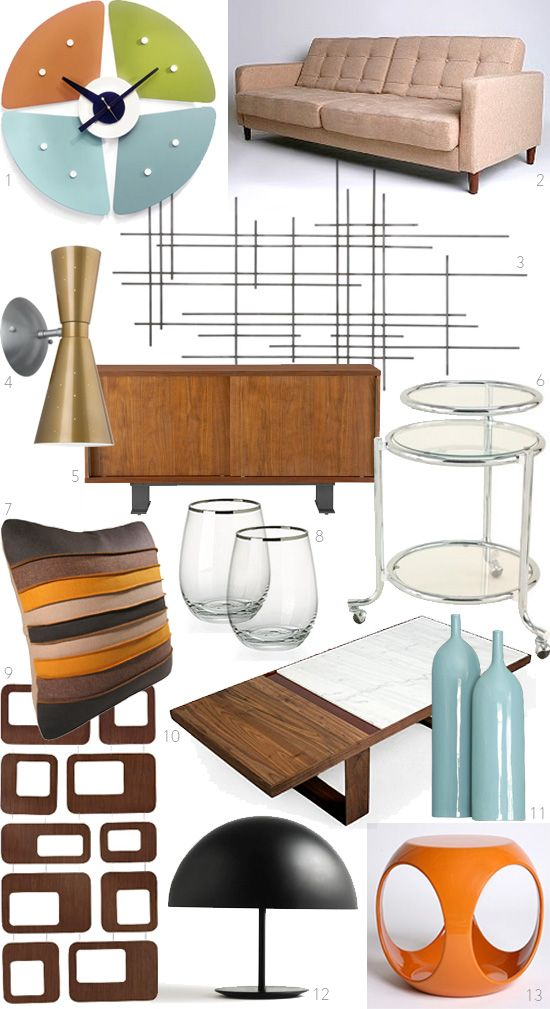They Re Finally Back Can T Wait For The New Season Premier Of Mad Men This Weekend And So I Am Feeling Especially Inspired By The Vintage Style Decor