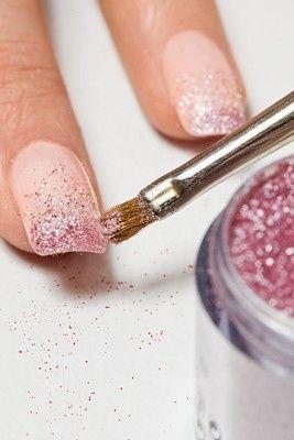 #nagels#feest#glitter