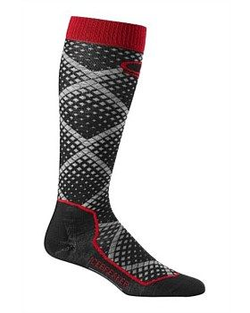 Combining a super-comfortable anatomical fit with a warm and durable merino-blend fabric, the Ski+ Ultralight Over the Calf Piste socks from Icebreaker are uncushioned for warmer conditions and designed for all-day performance on the mountain. Buy Now: http://www.outsidesports.co.nz/Icebreaker/Mens_Icebreaker/Socks/IB102629/Icebreaker-Ski+-Ultralight-Piste-Socks-men's.html#.Vtjpcfl96Uk