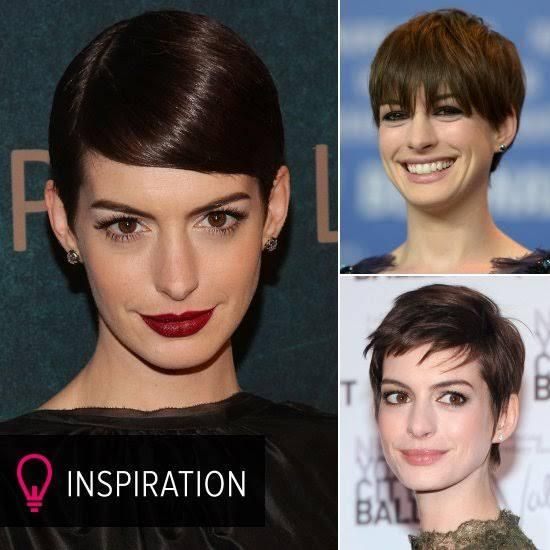 How Anne Hathaway Threw A Fit When She Discovered That: 25+ Best Ideas About Anne Hathaway Pixie On Pinterest
