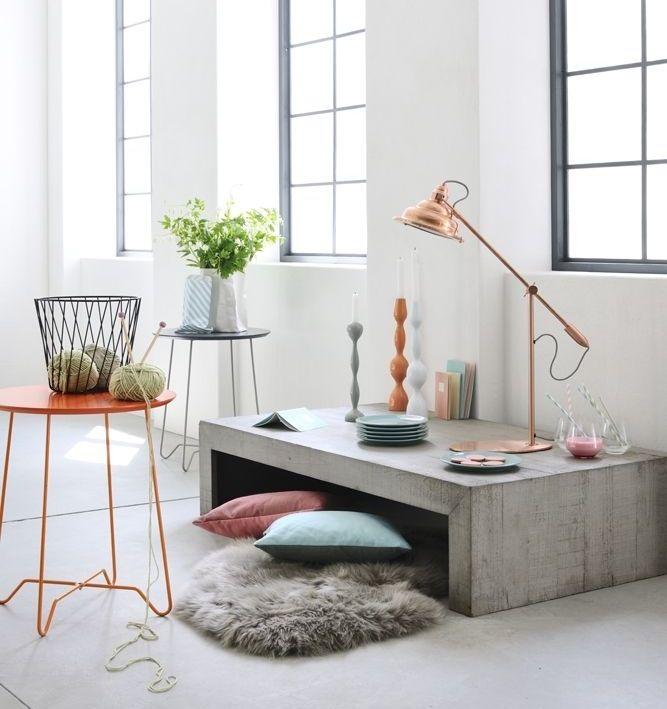 - Coins et recoins - Décoration salon / Living-room - deco Nordic style - La touche d'Agathe -