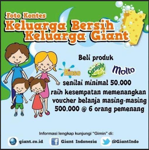 Foto Contest Keluarga Bersih-Keluarga Giant 5-28 Januari 2015