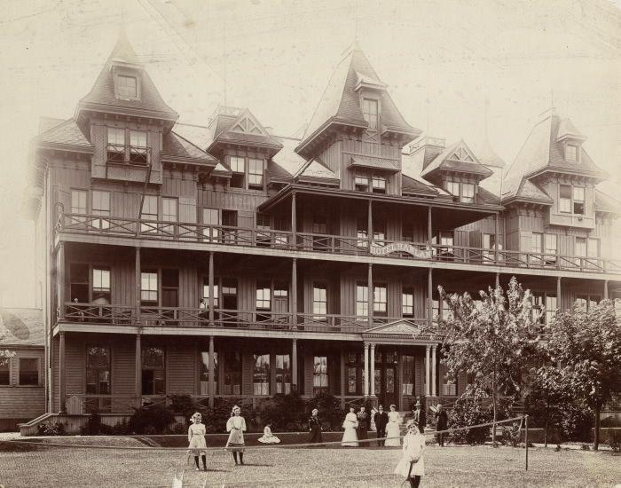 Toronto - Hotel Hanlon(1880-1909), Hanlan's Point.