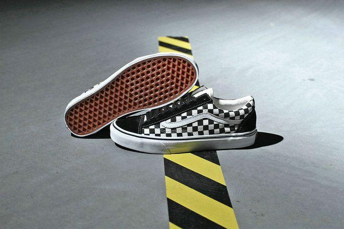 7f64bac719 Billys x Vans Style 36 Crazy Vans Old Skool Checkerboard Shoe amazon  Recommend Vans For Sale  Vans