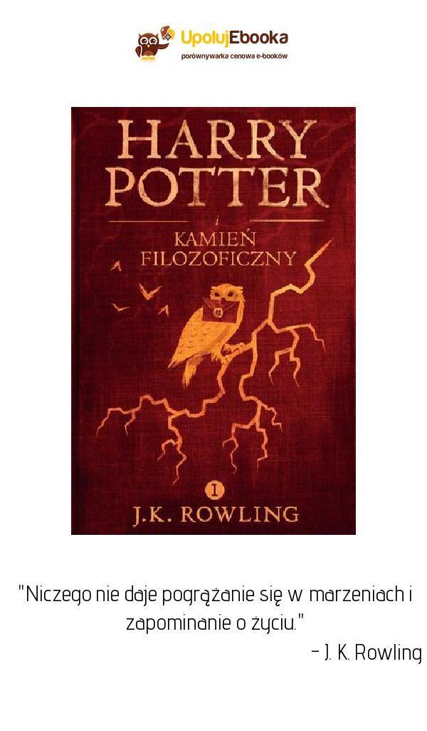 Harry Potter I Kamien Filozoficzny J K Rowling Ebook Ksiazka Rowling Harry Potter Potter