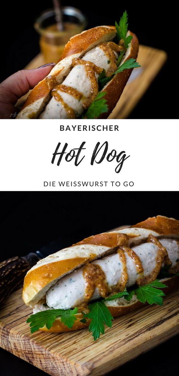 Bayerischer Hot Dog – Weißwurst to go