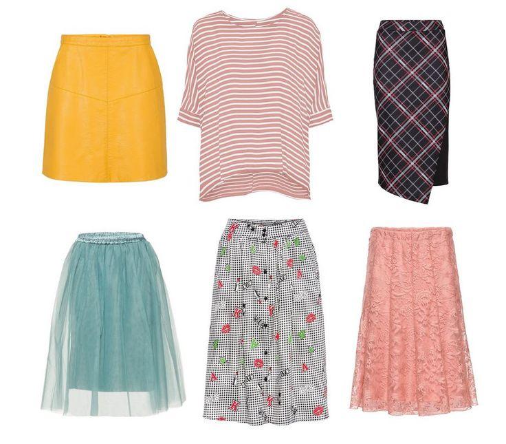 Móda pre moletky - pásikavé tričko pre moletky, sukne pre moletky, oblečenie pre moletky