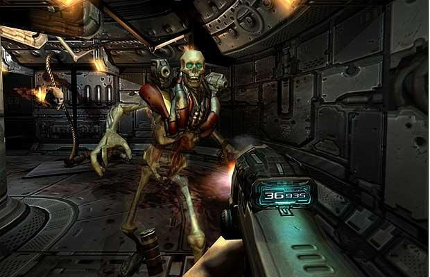 The scariest video game monsters:DOOM 3