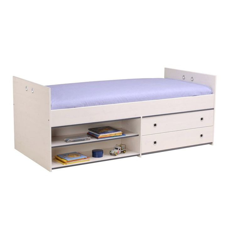 Ginger Twin Panel Bed with Drawers