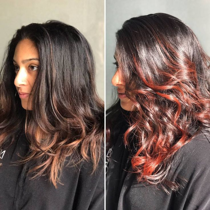 118 best before and after hair color results images on pinterest more gorgeous red hair for fall we used barolo gloss on previously lightened solutioingenieria Choice Image