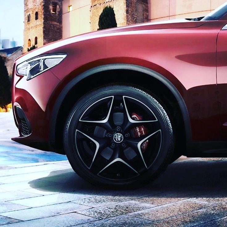 Thoughts on this Alfa Romeo Stelvio Wheel? #alfaromeo #cda #coeurdalene #boise #spokane #stelvio #suv #awd #italy #rims #wheels #davesmithalfaromeo #idaho #idahome #kylegalaz