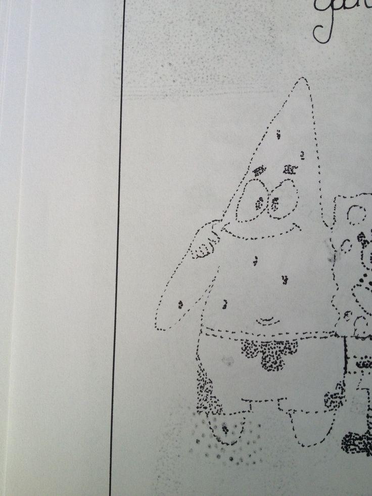 De tatoeage voor de banaan PATRICK STER!!
