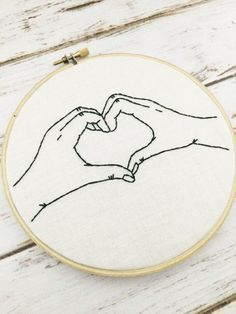 Funny hoop art Hand embroidery Embroidery hoop by ThreadTheWick