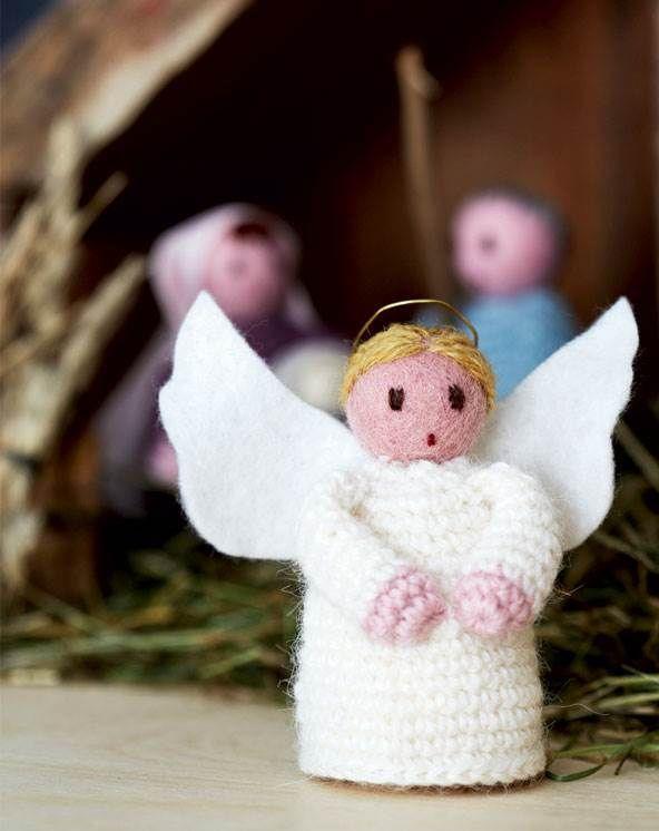 Det var englene, der sang så smukt, da Jesus blev født. Lav lige så mange, du synes der skal til dit kor.