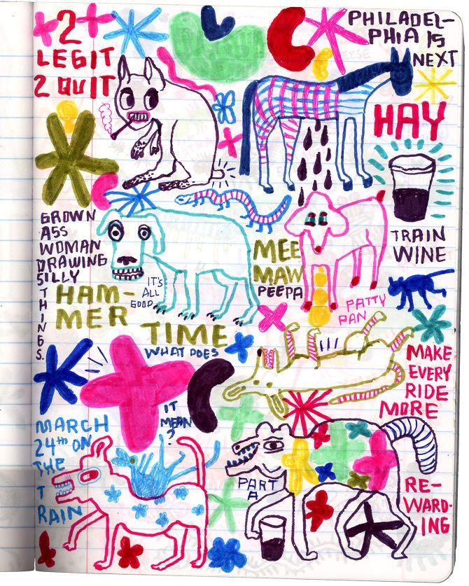 amtrak drawing club - martharich