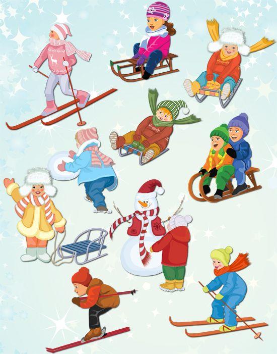Grafika átlátszó háttérrel - Winter Fun