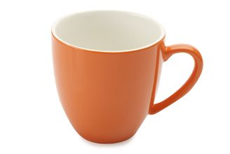 Maxwell & Williams Cafe Culture - Coupe Mug 400ML Arancione