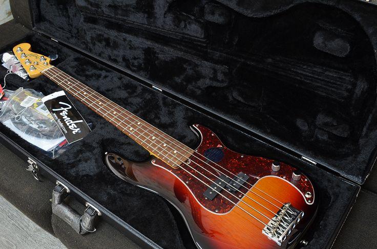 Fender American Standard Precision 5 cuerdas. Compra en Colombia.