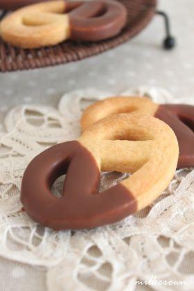 「【バレンタイン】シンプル型抜きクッキー」milkcrown | お菓子・パンのレシピや作り方【corecle*コレクル】