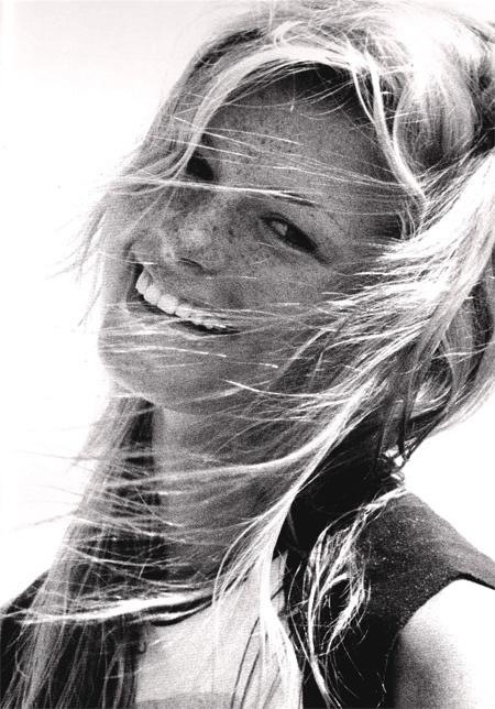 Marisa Miller is sunshiney.
