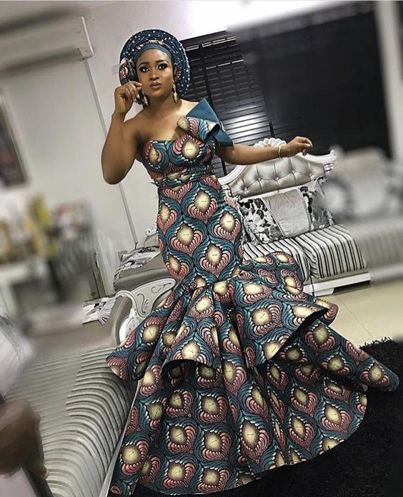 African Print Fashion Dresses