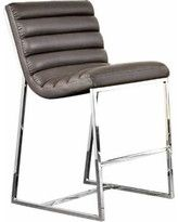 Bardot Counter Height Chair w/ Stainless Steel Frame