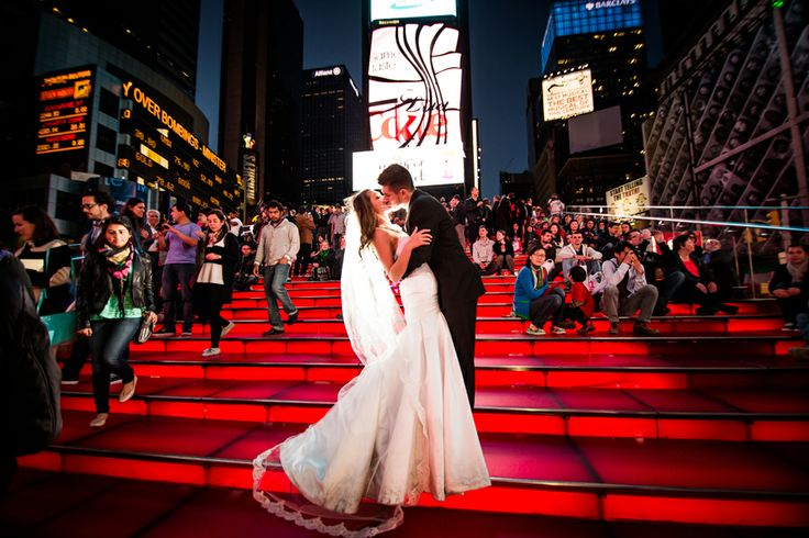 New York City NYC wedding photos by Dina Chmut Photography