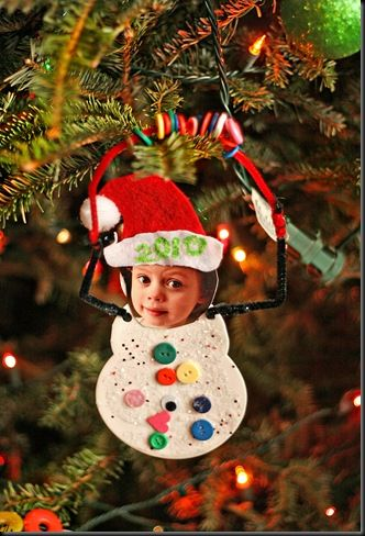 Another cute ornament idea from smART Class. No directions but I am making these!