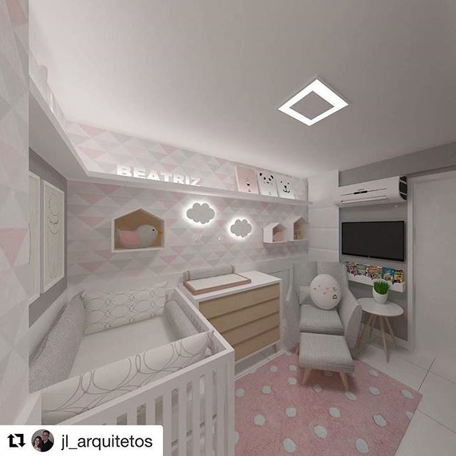 Quarto de Bebê Ceiling, Kids rooms and Room