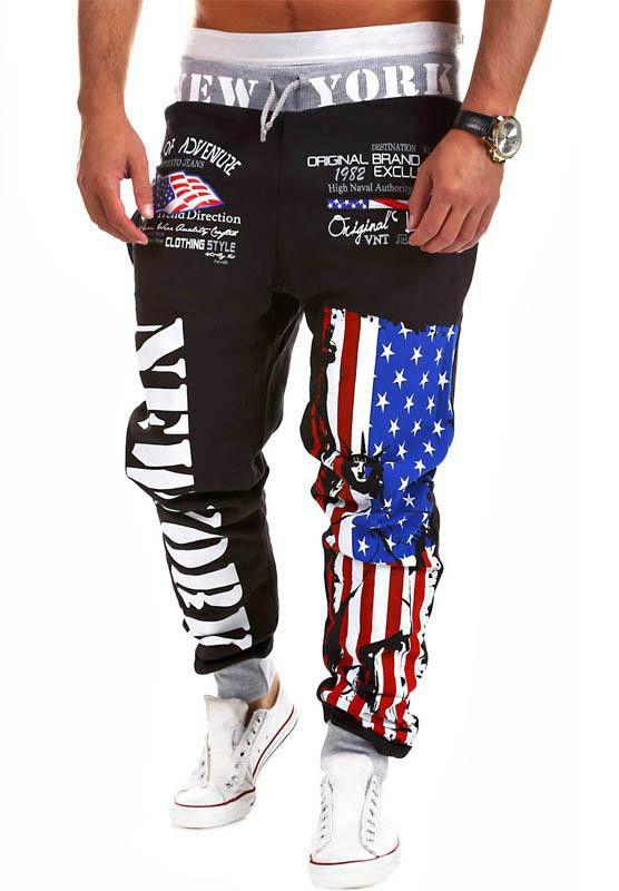 Men's Fashion Sport Joggers Pants- I want bc they are more comfy than girls clothing